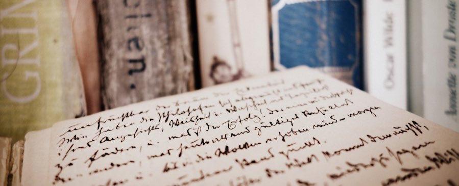 livres et manuscrits- ateliers d'écriture à Londres
